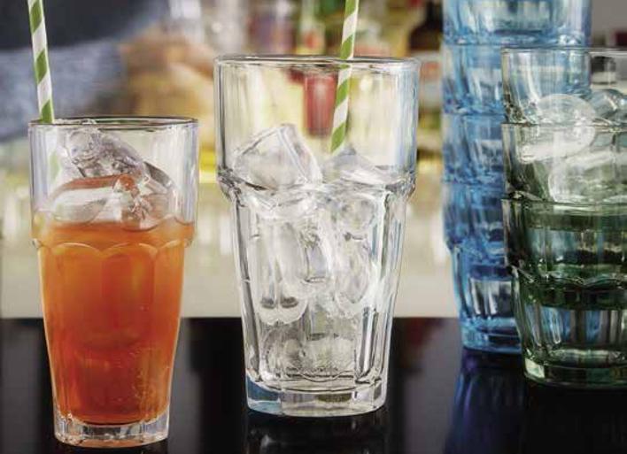 Rock Bar är En Glerie Från Bormioli Rocco Som Tillverkat Av Härdat Glas Och Har Klisk Design