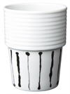 Filippa K, kaffemugg, stapelbar, Ink Stripe, 31 cl (2 st/fp)