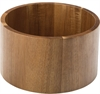 Akacia Punch Barrel Stand/Bowl, Fot/skål, 21,5 diameter cm